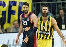 Fenerbahçe Doğuş, evinde Baskoniayı 95-89 mağlup etti