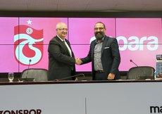 Trabzonspor, Papara firması ile sponsorluk anlaşması imzaladı