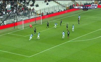 Beşiktaş 0-1 BB Erzurumspor