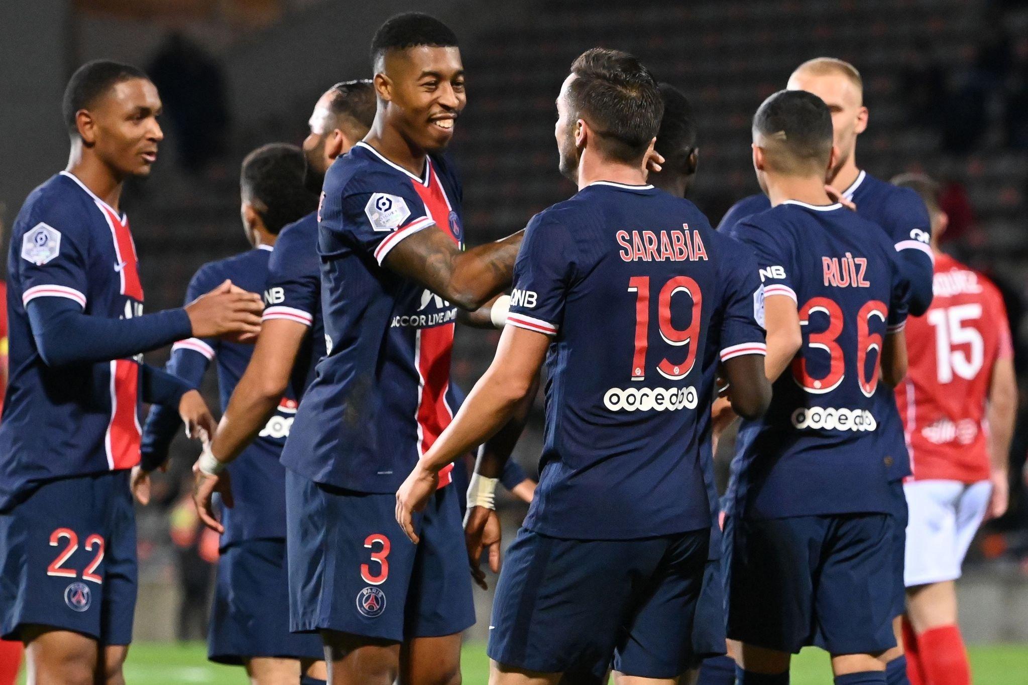 Ligue 1: Nimes 0-4 Paris Saint-Germain PSG | MAÇ SONUCU - Aspor