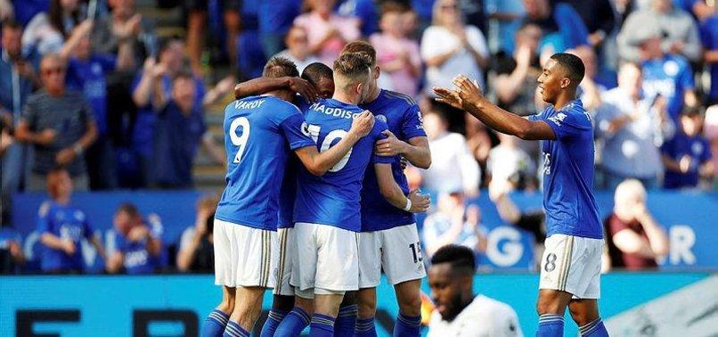 Çağlarlı Leicester City, Tottenham'ı yendi