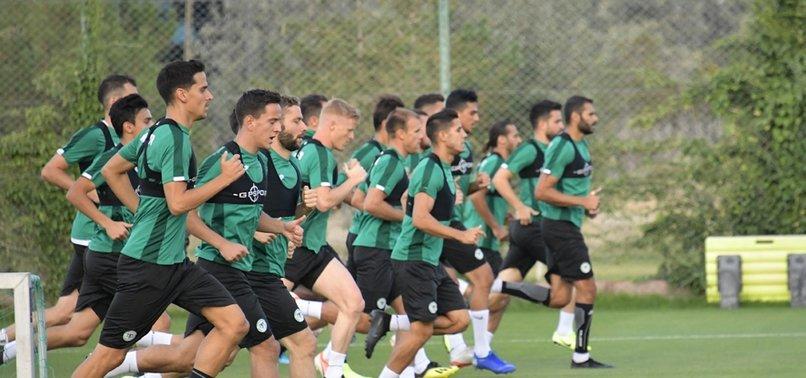 Konyaspor'da Denizlispor mesaisi başladı