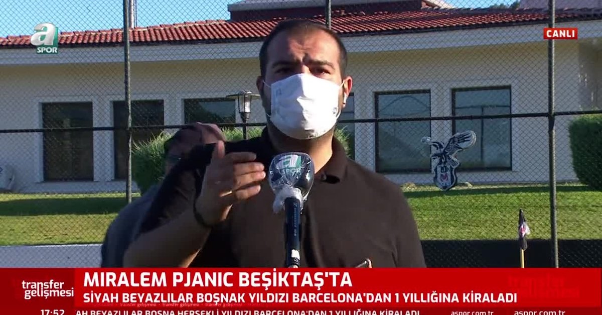 Pjanic Beşiktaş'ta! İşte İstanbul'a geliş saati