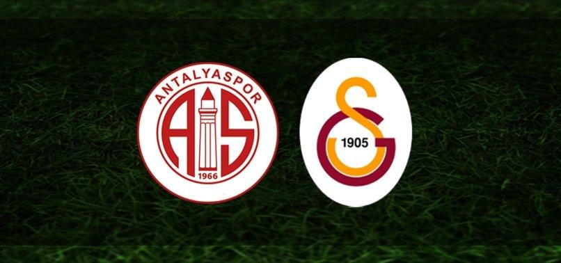 Antalyaspor-Galatasaray | CANLI