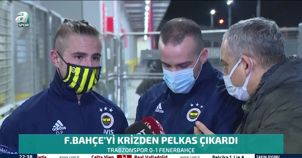 Son dakika spor haberi: Trabzonspor Fenerbahçe maçının yıldızı Pelkas attığı golü böyle anlattı