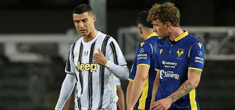 Verona 1-1 Juventus (MAÇ SONUCU-ÖZET)