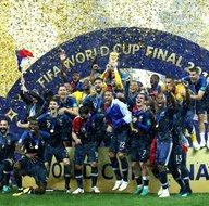 2018 Dünya Kupasının sahibi Fransa! İşte maçtan kareler...