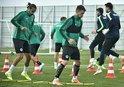 Konyaspor'da Beşiktaş mesaisi sürdü