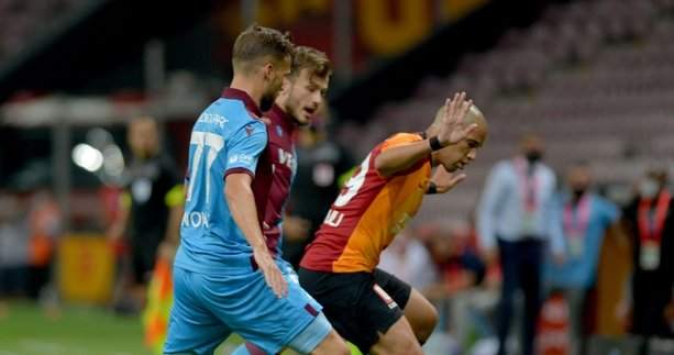 Galatasaray-Trabzonspor maçında tribünde sürpriz isim! Derbiyi izlemeye geldi
