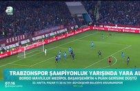 Trabzonspor şampiyonluk yarışında yara aldı