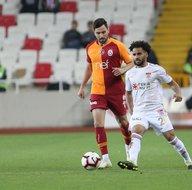 Sivasspor - Galatasaray maçından kareler...